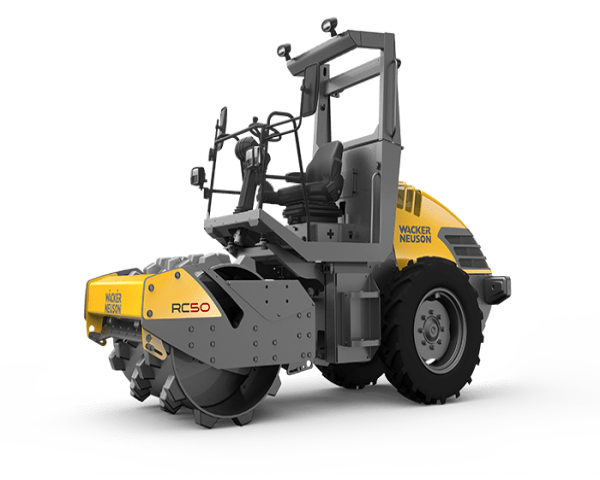 RC70 - 7 tons for compaction — compactly packed