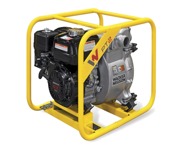 PT2A, PT3A - İnşaat sahəsindəki ağır gündəlik iş üçün yüksək səmərəli motor nasosları