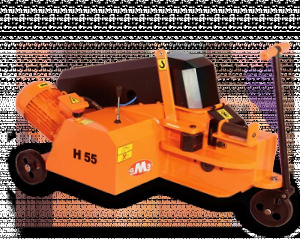 H55 55 mm Hidrolik Demir Kesme Makinasi