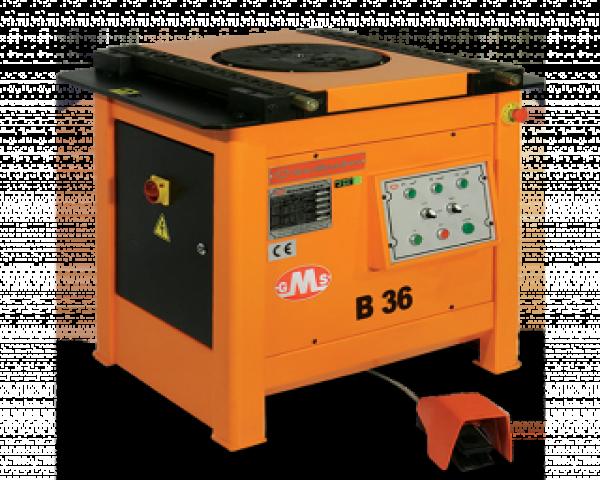 36 mm Mexanik Demir Bükme Makinasi